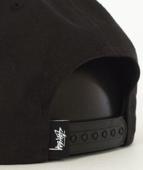 Stussy-Stock Lock Cap Snapback Czapka Black