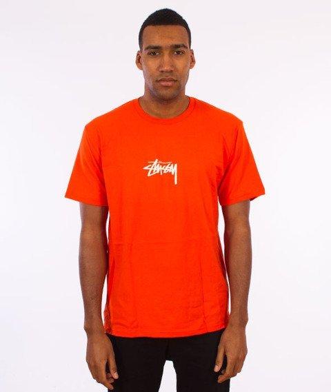 Stussy-Stock T-Shirt Orange