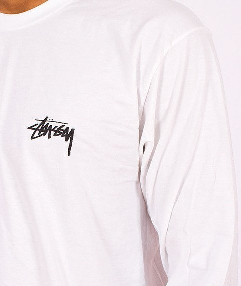 Stussy-Warp Longsleeve White