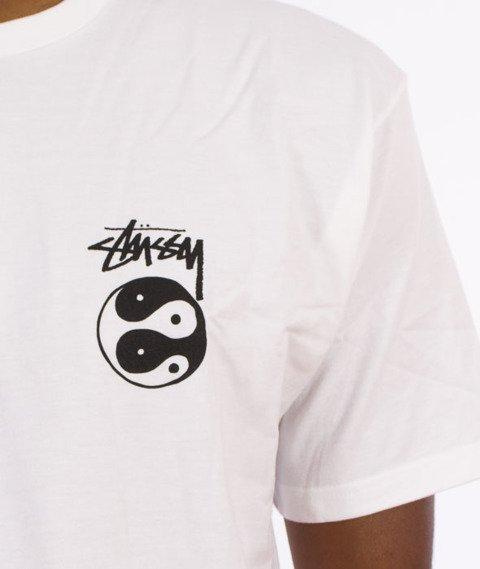 Stussy-Ying Yangz T-Shirt Biały