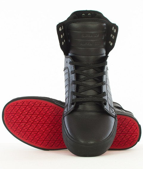Supra-Skytop Black/Black Red
