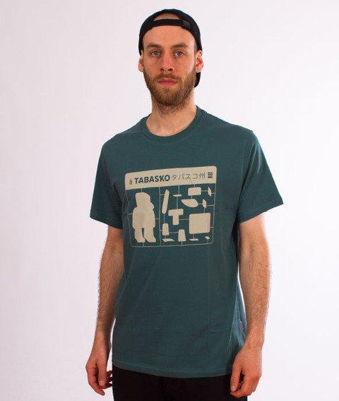 Tabasko-Jigsaw T-Shirt Turquoise