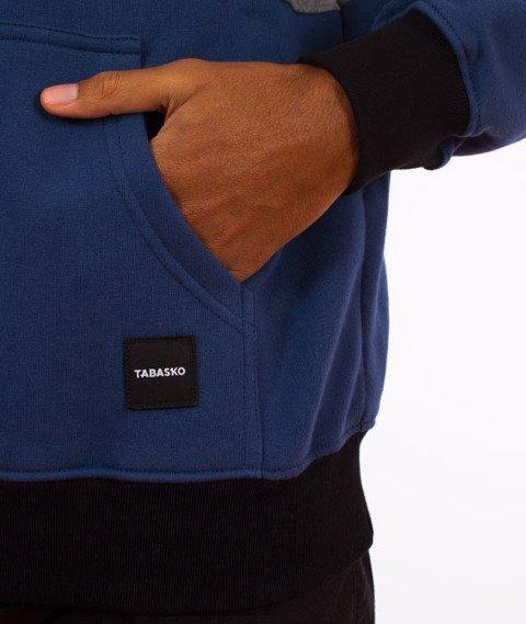 Tabasko-Panel Bluza Kaptur Granatowa