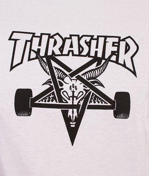 Thrasher-SK8 Goat T-Shirt Biały