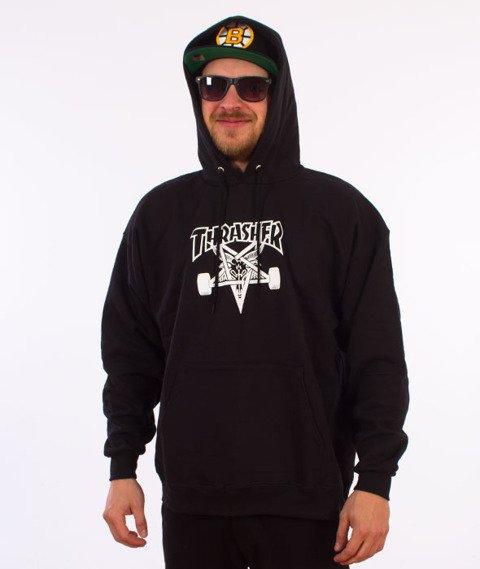 Thrasher-Skate Goat Bluza Kaptur Czarna