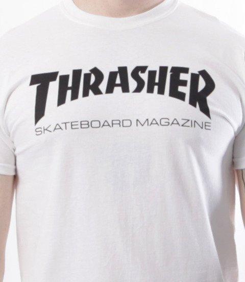 Thrasher-Skate Mag T-Shirt Biały