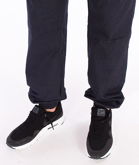 Turbokolor-Chino Deck Crew Jogger Navy FW16