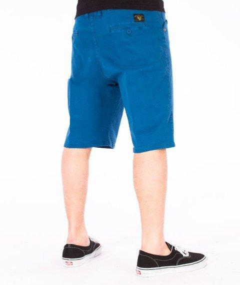 Turbokolor-Chino Shorts Loose Spodnie Navy
