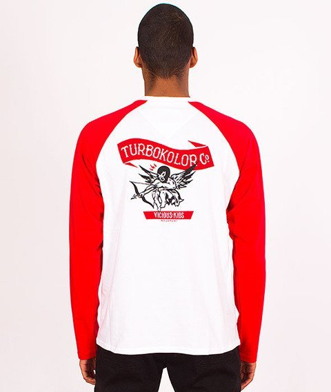 Turbokolor-Cupid Longsleeve White/Red SS16