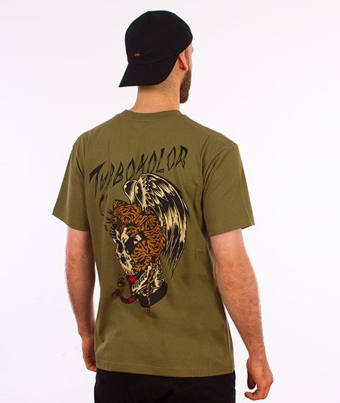 Turbokolor-Flying T-Shirt Khaki