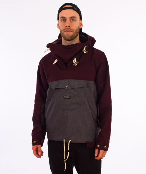 Turbokolor-Freitag Jacket Brown Grey