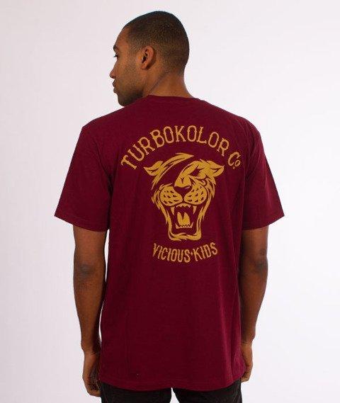 Turbokolor-OG Tee T-Shirt Burgundy