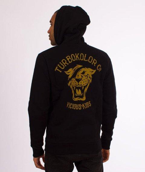 Turbokolor-OG Zipper Hoody Bluza Kaptur Black