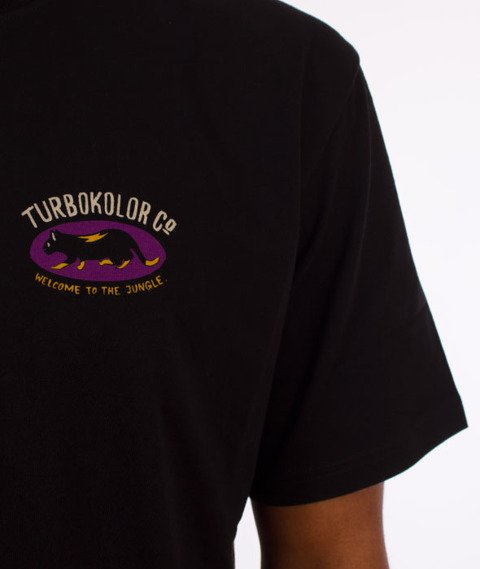 Turbokolor-Pussycat T-Shirt Black