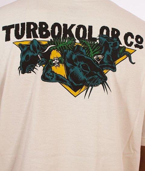 Turbokolor-Rat Club T-Shirt Ecru