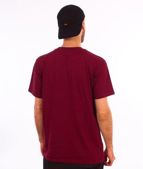 Turbokolor-Simple Thread Ink T-Shirt Burgundy