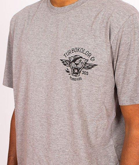 Turbokolor-Vicious Kids T-Shirt Grey SS16
