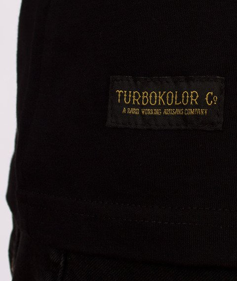 Turbokolor-William Pocket Tank Top Black