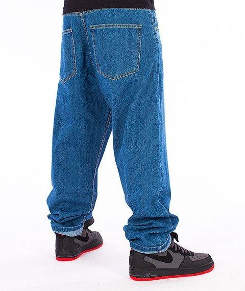 Unhuman-Baggy Jeans Spodnie Blue