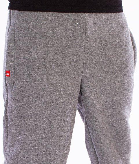 Unhuman-Classic Jogger Slim Spodnie Dresowe Grafitowe