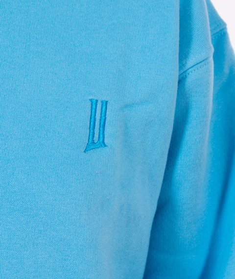 "Unhuman-Classic ""U"" Crewneck Bluza Niebieska"