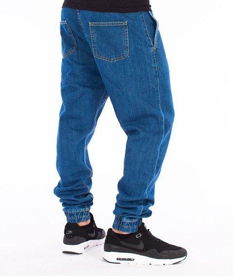 Unhuman-Klasyk Jogger Jeans Blue