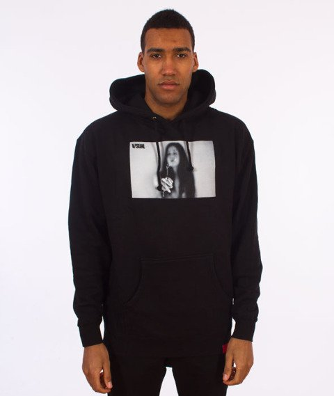 V/SUAL-Joint Pullover Hoodie Black