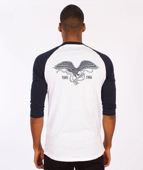 Vans-Anchor Clanker Raglan White/Navy