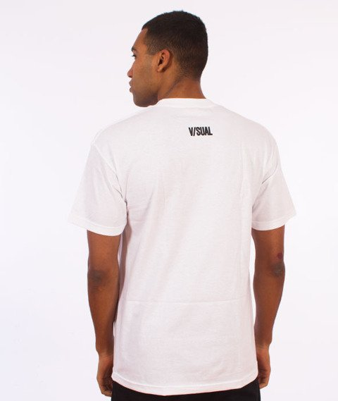 Visual-Censored T-Shirt White