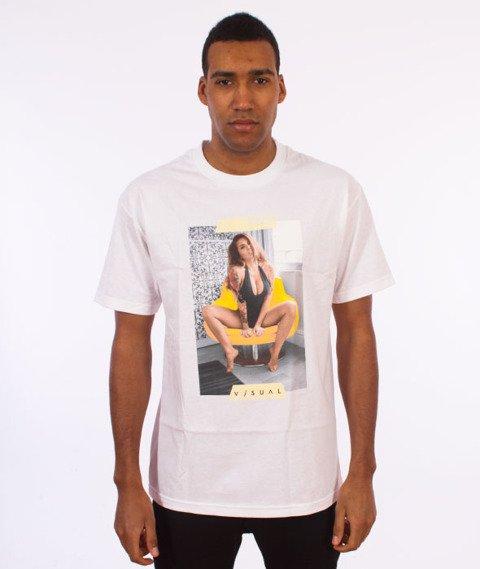 Visual-Tapped T-Shirt White