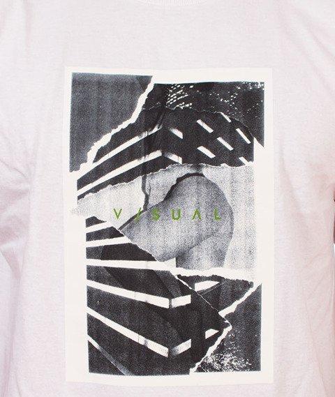 Visual-Torn T-Shirt White
