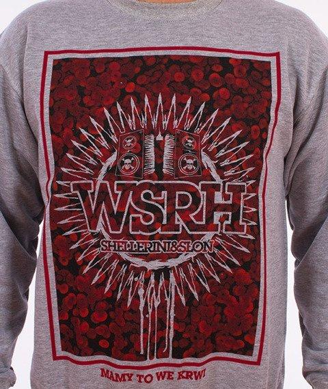 WSRH-Blood Bluza Szara