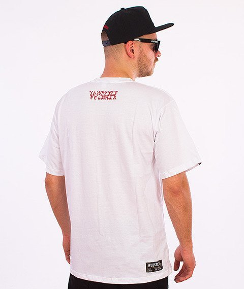 WSRH-Blood T-Shirt Biały