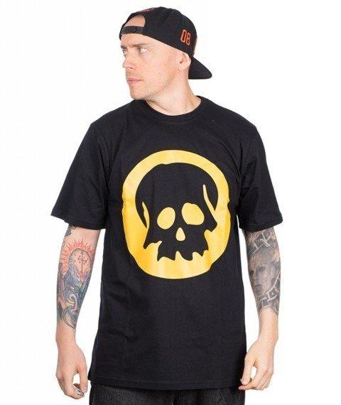 WSRH-Czaszka T-shirt Czarny