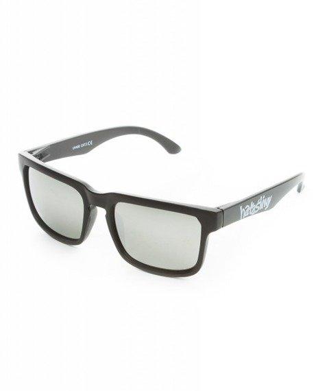 WSRH HAŁAŚLIWY Okulary Przeciwsłoneczne Czarny