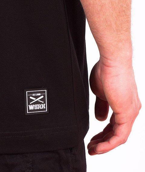 WSRH-Hałaśliwy T-shirt Czarny/Biały