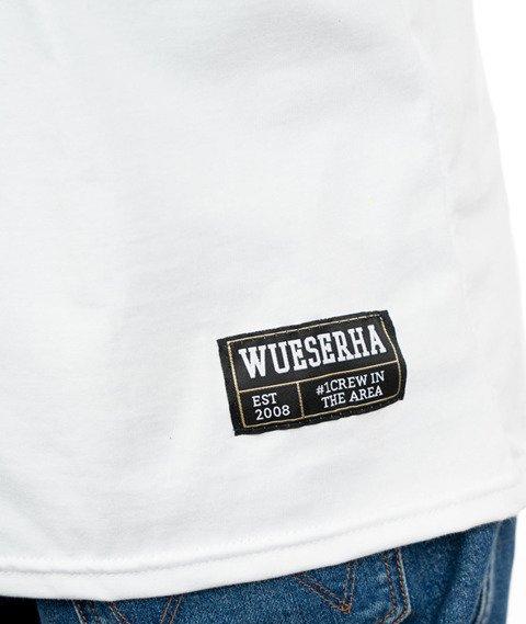 WSRH Mam to we krwi T-shirt Biały