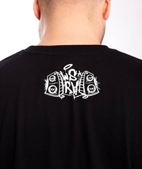 WSRH POD NACISKIEM T-Shirt Czarny