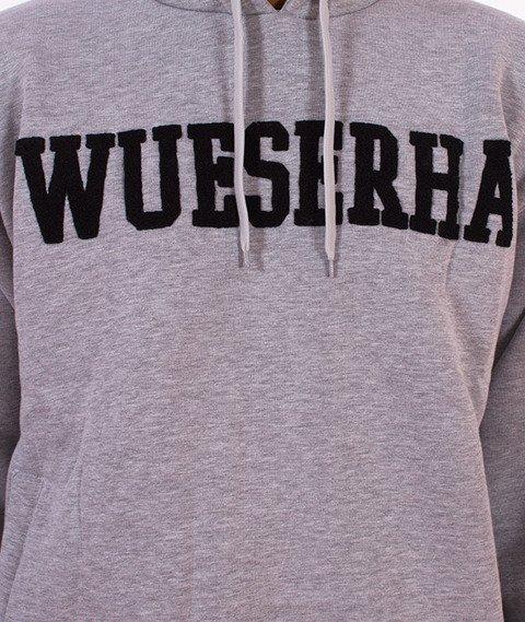 WSRH-Wueserha Bluza Kaptur Szary