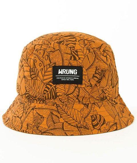 Wrung-Safari Bucket Hat Brązowy
