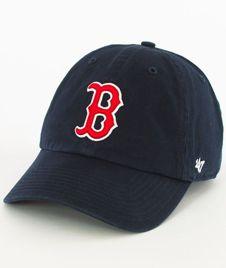 47 Brand-Clean Up Boston Red Sox Czapka z Daszkiem Granatowa