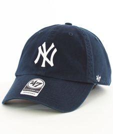 47 Brand-Clean Up New York Yankees Czapka z Daszkiem Granatowa