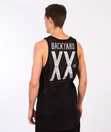 Backyard Cartel-Transition Mesh Long Tank Top Black