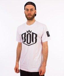 Biuro Ochrony Rapu-Bor Herb T-shirt Biały