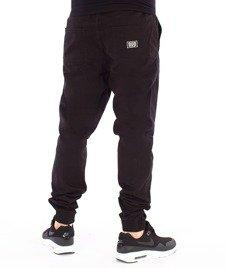 Biuro Ochrony Rapu-Jogger Fit Guma Strecz Spodnie BOR New Outline Czarny