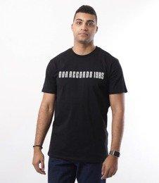 Biuro Ochrony Rapu-Records T-shirt Czarny