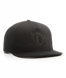 Brain Dead Familia-All Black Snapback Czarny