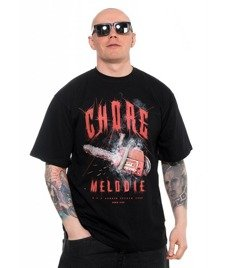 Brain Dead Familia-Chore Melodie T-shirt Czarny