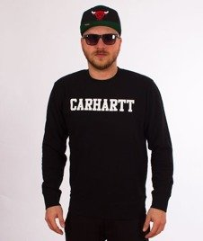 Carhartt-College Sweatshirt Dark Navy/White