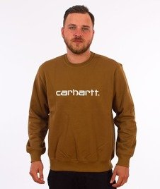 Carhartt-College Sweatshirt Hamilton Brown/Wax